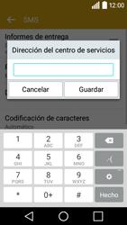 LG Leon - Mensajería - Configurar el equipo para mensajes de texto - Paso 8