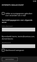 HTC Windows Phone 8S - E-mail - Handmatig instellen - Stap 14