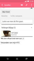 HTC Desire EYE - E-mail - hoe te versturen - Stap 16