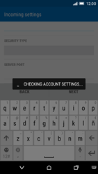 HTC One M9 - Email - Manual configuration - Step 12