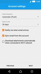Sony E2303 Xperia M4 Aqua - Email - Manual configuration - Step 14