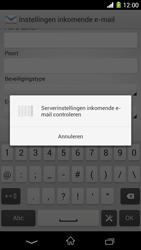 Sony C6903 Xperia Z1 - E-mail - Handmatig instellen - Stap 11
