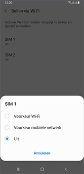 Samsung galaxy-a6-plus-sm-a605fn-ds-android-pie - Bellen - WiFi Bellen (VoWiFi) - Stap 7