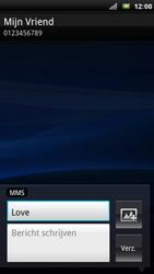 Sony Ericsson Xperia Arc - MMS - afbeeldingen verzenden - Stap 8