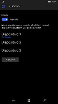 Microsoft Lumia 950 XL - Bluetooth - Conectar dispositivos a través de Bluetooth - Paso 9