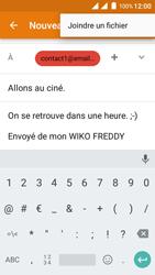Wiko Freddy - E-mails - Envoyer un e-mail - Étape 11