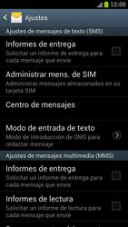 Samsung I9300 Galaxy S III - Mensajería - Configurar el equipo para mensajes de texto - Paso 5