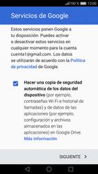 Huawei P9 - E-mail - Configurar Gmail - Paso 14