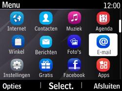 Nokia Asha 210 - E-mail - Hoe te versturen - Stap 3