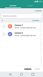 LG X Cam - Email - Sending an email message - Step 7