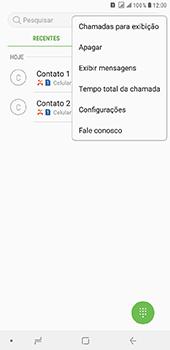 Samsung Galaxy J8 - Chamadas - Como bloquear chamadas de um número específico - Etapa 5