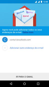 Motorola Moto X Play - Email - Como configurar seu celular para receber e enviar e-mails - Etapa 17