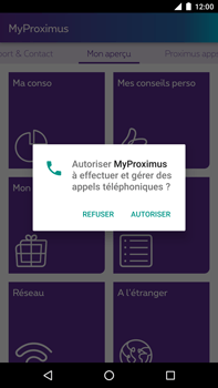 Huawei Google Nexus 6P - Applications - MyProximus - Étape 12