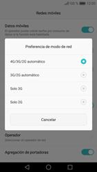 Huawei P9 - Red - Seleccionar el tipo de red - Paso 7