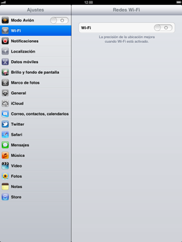 Apple iPad 2 - WiFi - Conectarse a una red WiFi - Paso 3