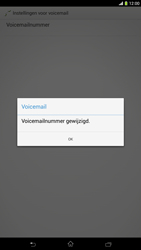 Sony C6833 Xperia Z Ultra LTE - Voicemail - Handmatig instellen - Stap 9