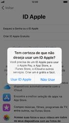 Apple iPhone 6 - iOS 12 - Primeiros passos - Como ativar seu aparelho - Etapa 18