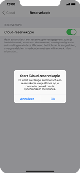 Apple iPhone XS Max - Data - maak een back-up met je account - Stap 11
