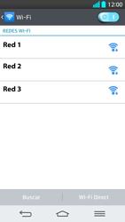 LG G2 - WiFi - Conectarse a una red WiFi - Paso 7