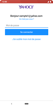 Google Pixel 3 - E-mail - 032b. Email wizard - Yahoo - Étape 9