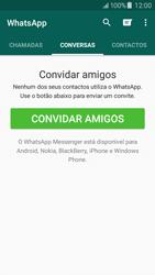 Samsung Galaxy J5 - Aplicações - Como configurar o WhatsApp -  11