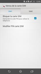 Sony Xperia E4g - Sécuriser votre mobile - Personnaliser le code PIN de votre carte SIM - Étape 7