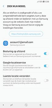 Samsung Galaxy Note 8 - Beveiliging en privacy - Zoek mijn mobiel activeren - Stap 8