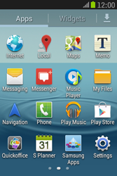Samsung S6310 Galaxy Young - Voicemail - Manual configuration - Step 3