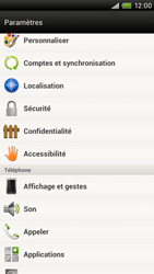 HTC S720e One X - Messagerie vocale - configuration manuelle - Étape 5