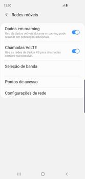 Samsung Galaxy S10 - Rede móvel - Como ativar e desativar o roaming de dados - Etapa 7