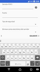Sony Xperia XZ - Android Nougat - E-mail - Configurar correo electrónico - Paso 13