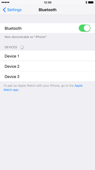 Apple iPhone 6s Plus - WiFi and Bluetooth - Setup Bluetooth Pairing - Step 5