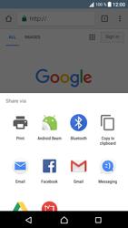 Sony Xperia XA1 - Internet - Internet browsing - Step 21