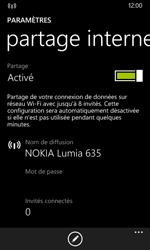 Nokia Lumia 635 - Internet et connexion - Partager votre connexion en Wi-Fi - Étape 6