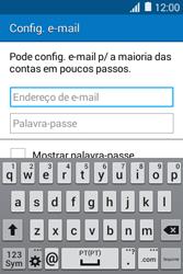 Samsung Galaxy Young II - Email - Configurar a conta de Email -  6