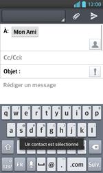 LG Optimus L5 II - E-mails - Envoyer un e-mail - Étape 8