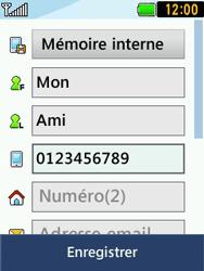 LG T580 - Contact, Appels, SMS/MMS - Ajouter un contact - Étape 8