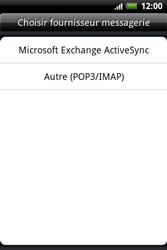 HTC A510e Wildfire S - E-mail - Configuration manuelle - Étape 4