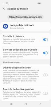 Samsung Galaxy S10 Plus - Appareil - configurer Localiser mon appareil - Étape 8