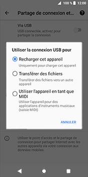 Sony Xperia XZ2 - Internet et connexion - Utiliser le mode modem par USB - Étape 8