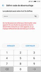 Honor 9 - Sécuriser votre mobile - Activer le code de verrouillage - Étape 7