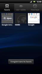 Sony Ericsson Xperia Play - Internet - Navigation sur internet - Étape 10