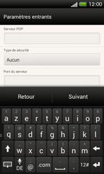 HTC C525u One SV - E-mail - Configuration manuelle - Étape 10