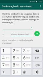 Samsung Galaxy S6 Android M - Aplicações - Como configurar o WhatsApp -  10
