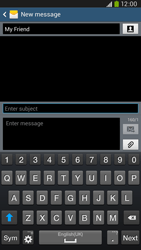 Samsung I9205 Galaxy Mega 6-3 LTE - Mms - Sending a picture message - Step 10