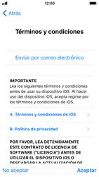 Apple iPhone SE iOS 11 - Primeros pasos - Activar el equipo - Paso 20