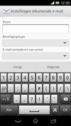 Sony C1905 Xperia M - E-mail - Handmatig instellen - Stap 10