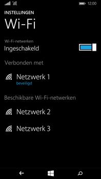 Microsoft Lumia 640 XL - WiFi - Verbinden met een netwerk - Stap 8