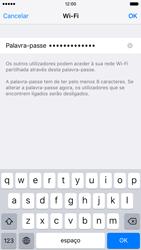 Apple iPhone 5s iOS 9 - Internet no telemóvel - Partilhar os dados móveis -  6
