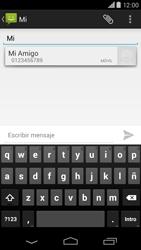 Motorola Moto X (2ª Gen) - Mensajería - Escribir y enviar un mensaje multimedia - Paso 6